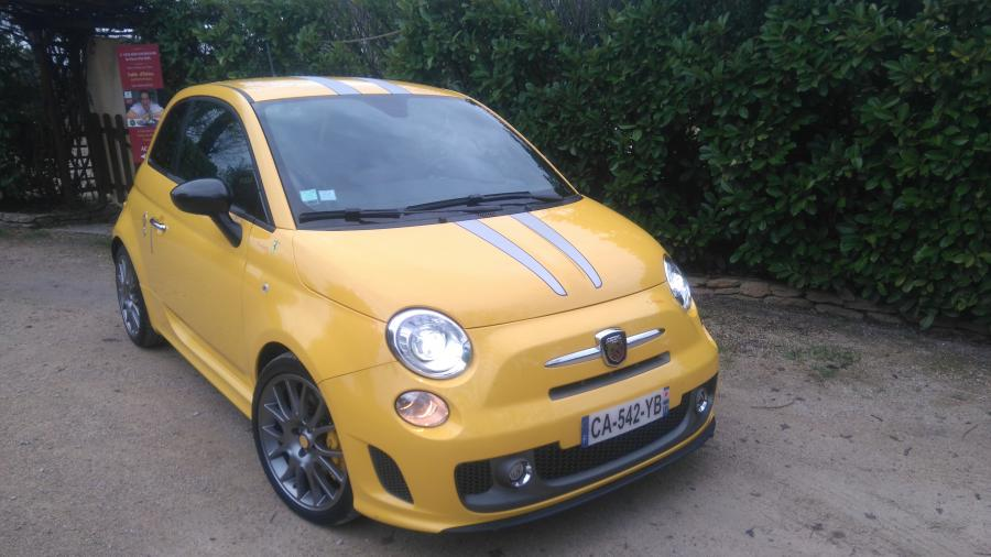 ABARTH 500 695 Tributo Ferrari 180ch berline 2012