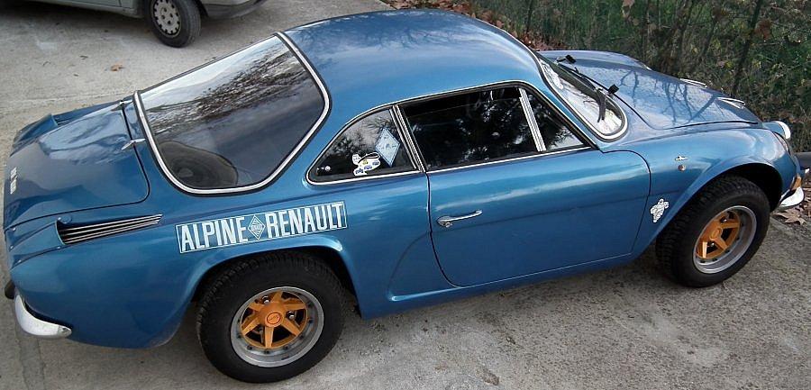 Avis ALPINE A110 I 1300 VC coupé 1970 par levy