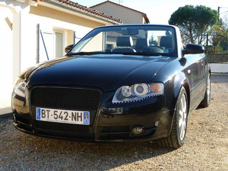 Avis AUDI A4 B7 3.0 TDI Quattro cabriolet 2006 par DOMINOMINIQUE