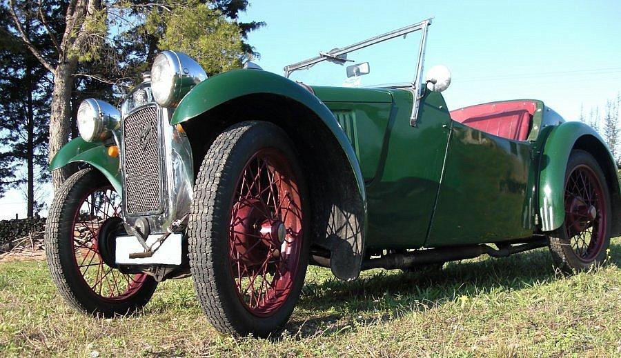 Avis AUSTIN SEVEN Type EB 65 coupé-cabriolet 1933 par bgo13