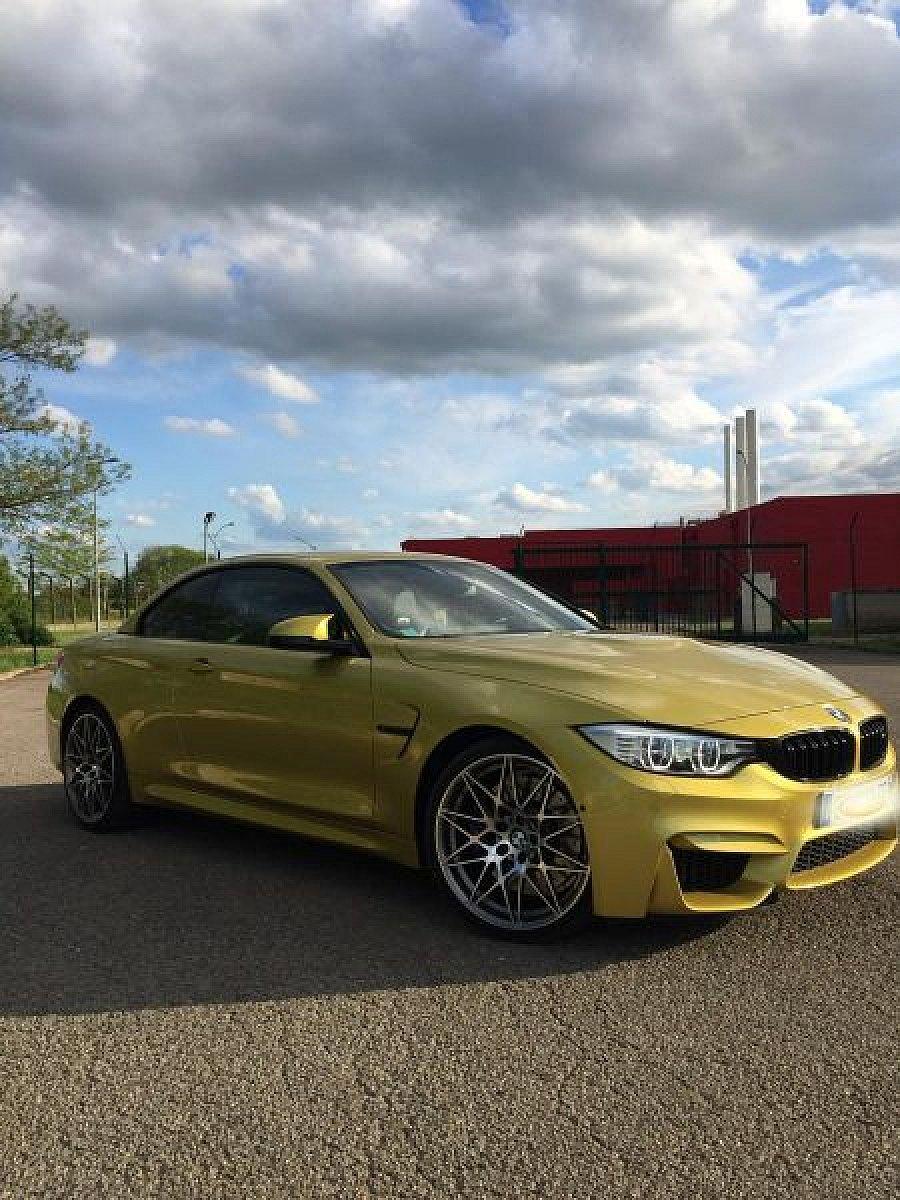 Avis BMW M4 F33 Cabriolet 3.0 cabriolet 2016 par Camu