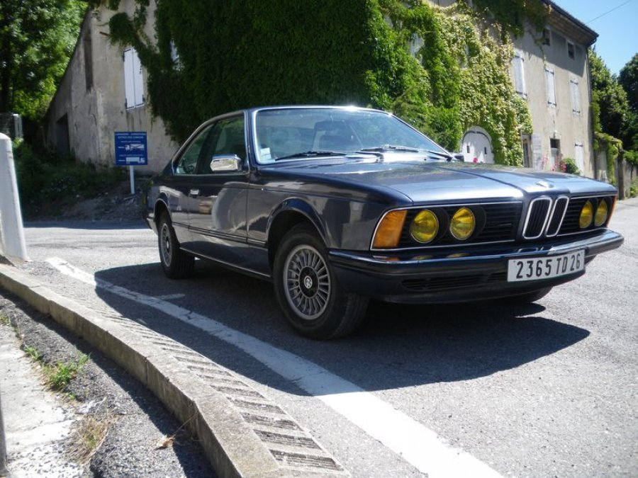 avis bmw serie 6 e24 633 csi 200 ch coup 1979 par serge26 motorlegend. Black Bedroom Furniture Sets. Home Design Ideas
