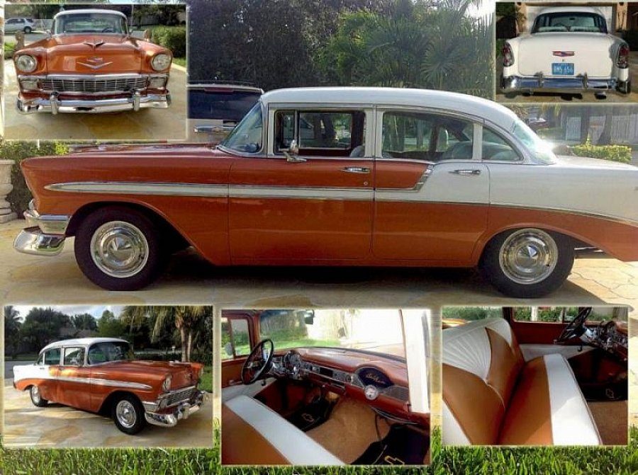 CHEVROLET BEL AIR II berline 1956
