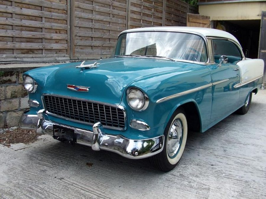 CHEVROLET BEL AIR II 4.3L V8 (265ci) coupé 1955