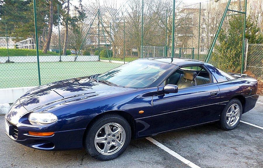 Avis CHEVROLET CAMARO Serie 4 Sport Coupé coupé-cabriolet 2000 par 300mtx