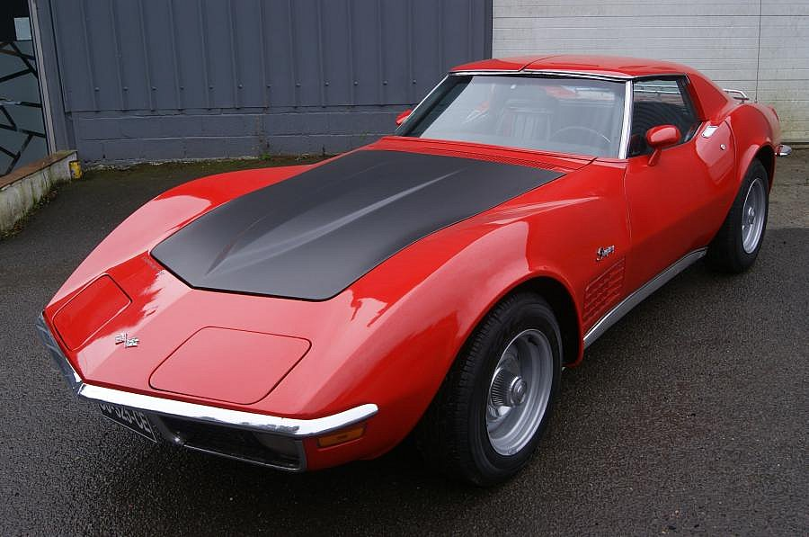 CHEVROLET CORVETTE C3 5.7 Small Block V8 (350ci) coupé 1971