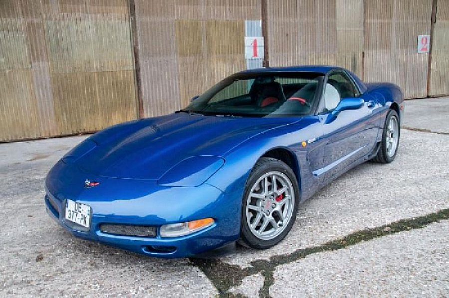 CHEVROLET CORVETTE C5 coupé 2002