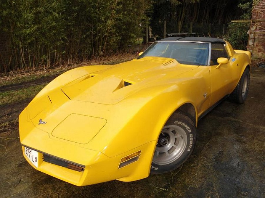 CHEVROLET CORVETTE C3 5.7 Small Block V8 (350ci) targa 1979