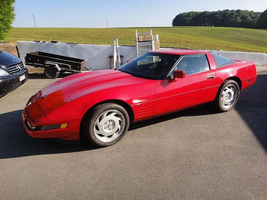 Avis CHEVROLET CORVETTE C4 5.7 V8 (350ci) compétition 1993 par jinlewe
