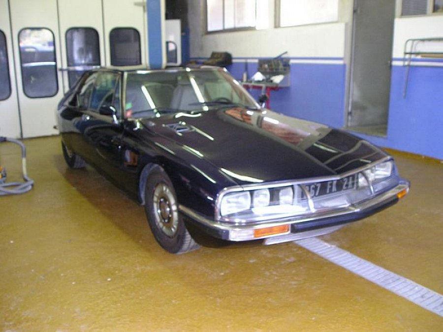 Avis CITROEN SM 2.7 170 ch coupé 1971 par ulmetu
