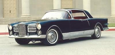 FACEL VEGA EXCELLENCE EX 1 berline 1958
