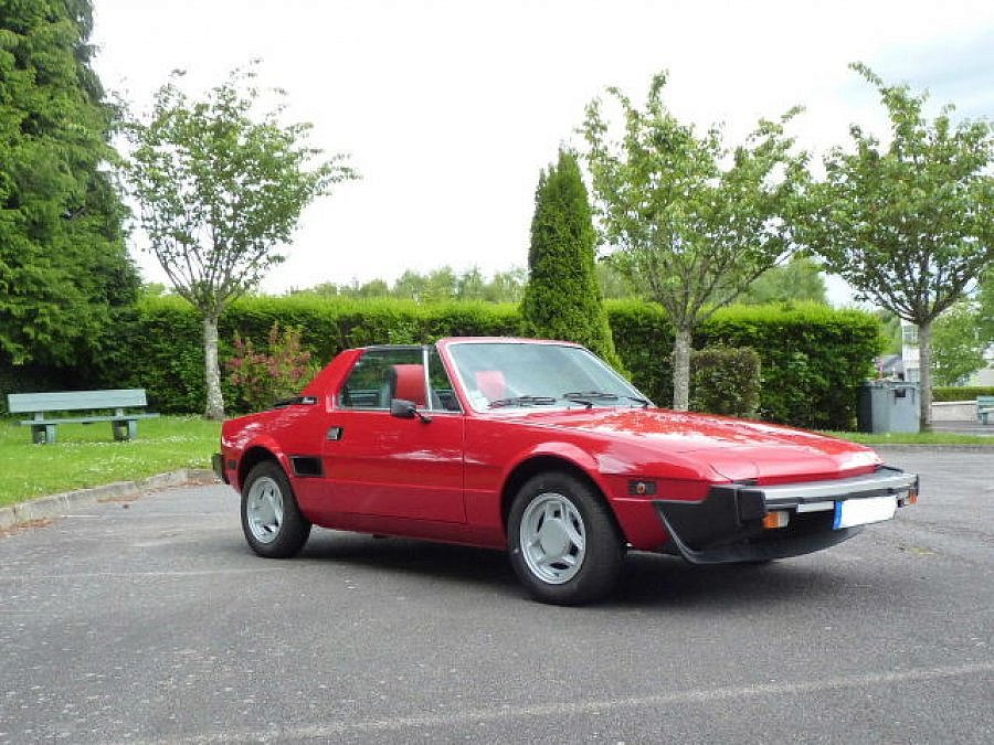 avis fiat x1 9 five speed cabriolet 1980 par jacques592 motorlegend. Black Bedroom Furniture Sets. Home Design Ideas