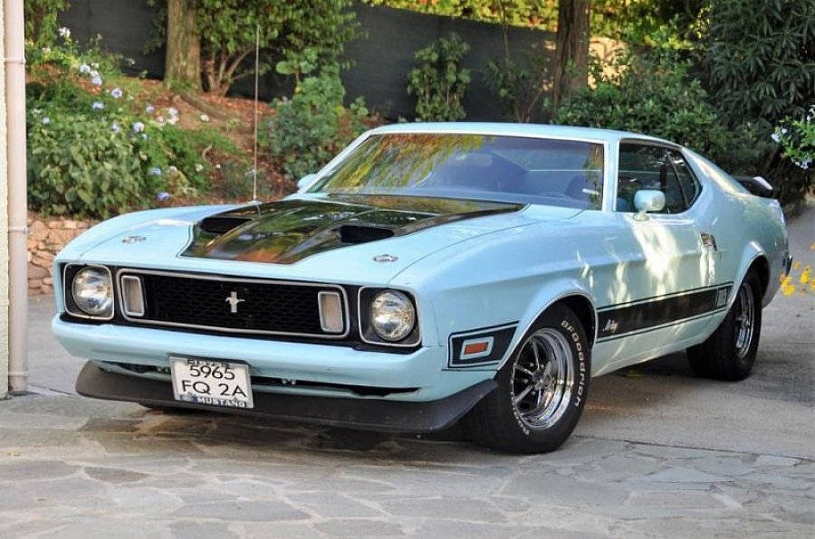 FORD MUSTANG I (1964-73) MACH 1 coupé 1973