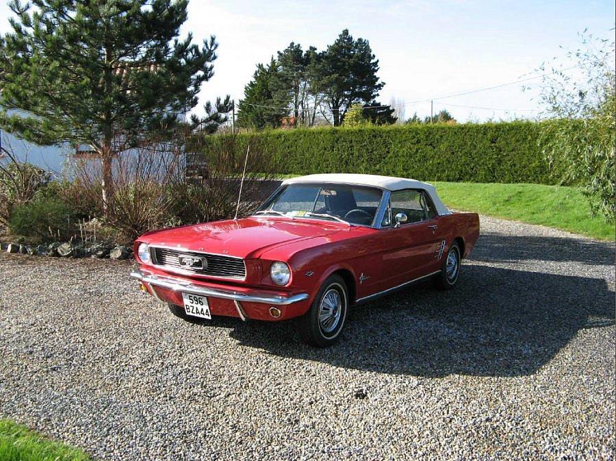 Avis FORD MUSTANG I (1964-73) 4.7L V8 (289 ci) cabriolet 1966 par mustang44