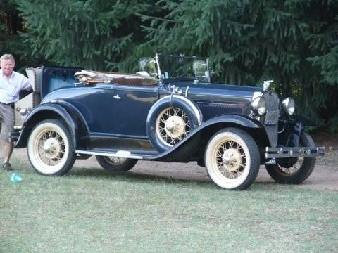 FORD TYPE A cabriolet 1930