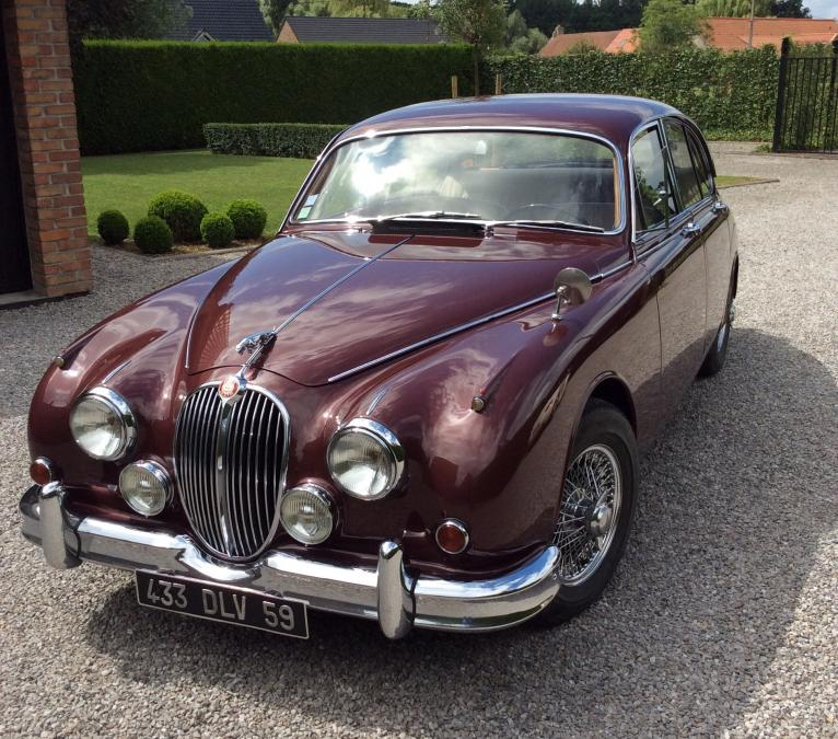 JAGUAR MARK 2 3.8 berline 1966
