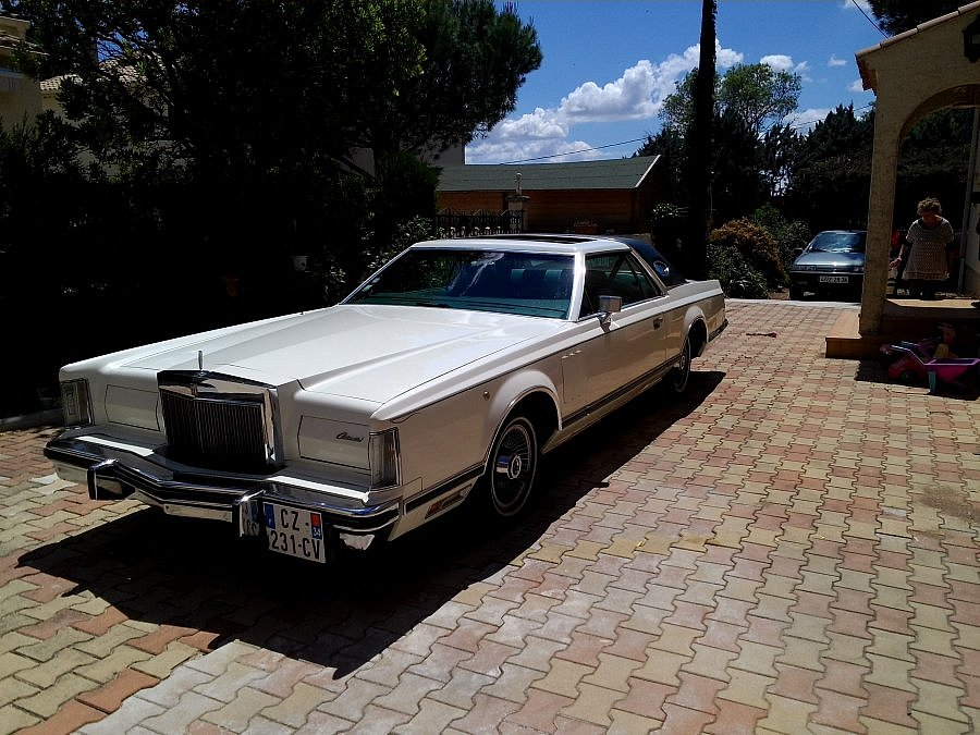 LINCOLN CONTINENTAL Mark V coupé 1978