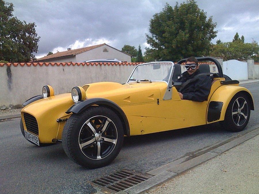 Avis MARTIN REPLIQUE LOTUS SEVEN (TTM GM0) cabriolet 1991 par frederi