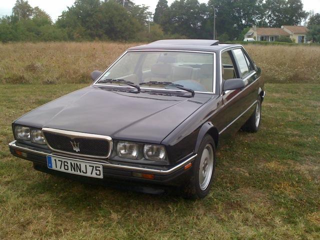 Avis MASERATI BITURBO 222 4v 2.8L V6 279ch berline 1988 ...