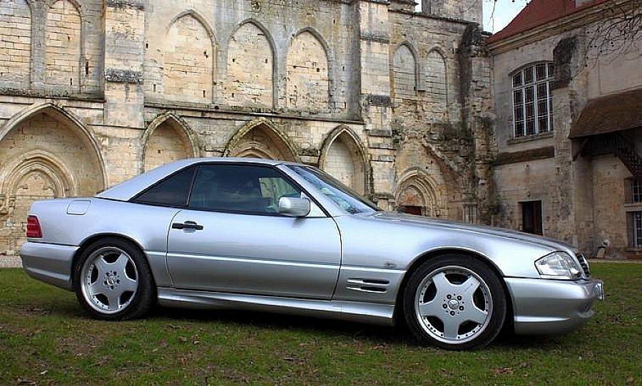 avis mercedes classe sl r129 55 amg cabriolet 1997 par carstyle motorlegend. Black Bedroom Furniture Sets. Home Design Ideas