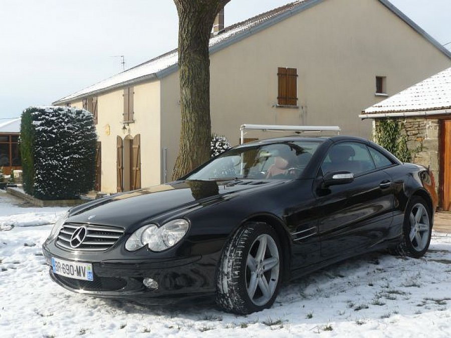 MERCEDES CLASSE SL cabriolet 2005