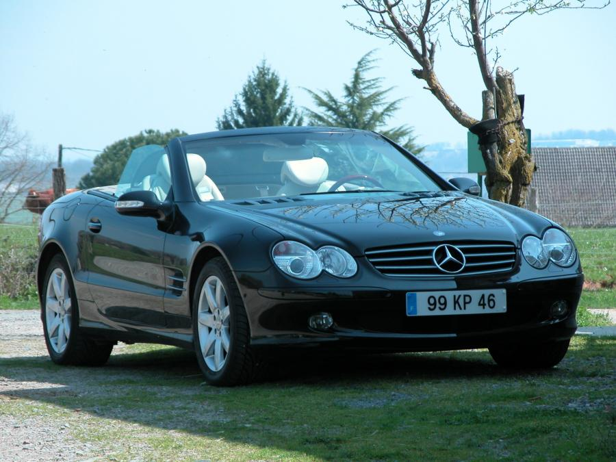 MERCEDES CLASSE SL R230 500 (Serie 1) cabriolet 2002