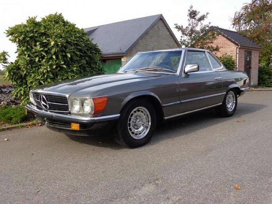 avis mercedes classe sl r107 500 sl cabriolet 1984 par motorlegend. Black Bedroom Furniture Sets. Home Design Ideas
