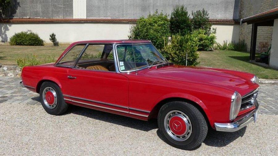 Avis MERCEDES CLASSE SL W113 Pagode 280 SL cabriolet 1969 par