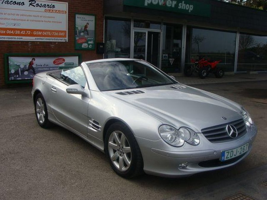 MERCEDES CLASSE SL R230 500 (Serie 1) cabriolet 2003