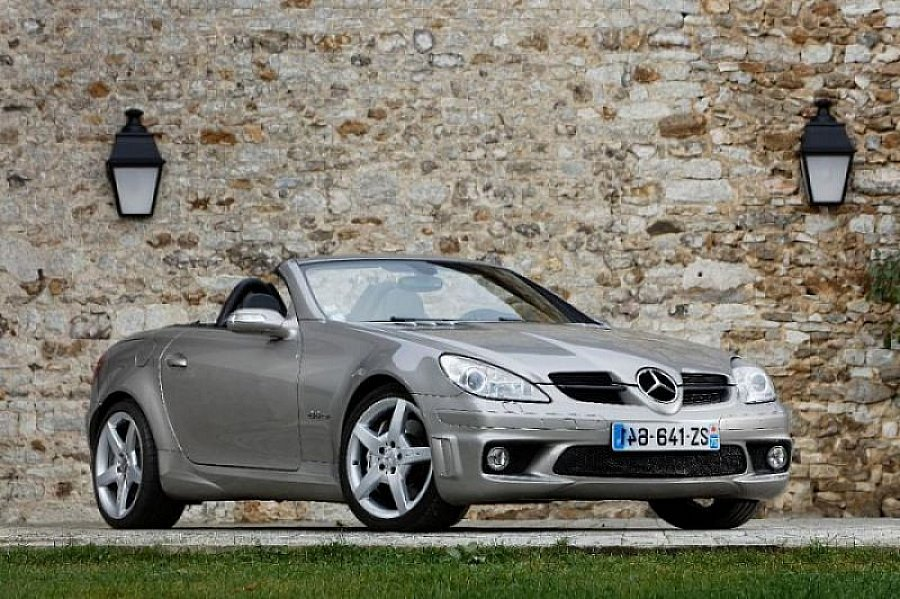 avis mercedes classe slk r171 55 amg cabriolet 2006 par starck motorlegend. Black Bedroom Furniture Sets. Home Design Ideas