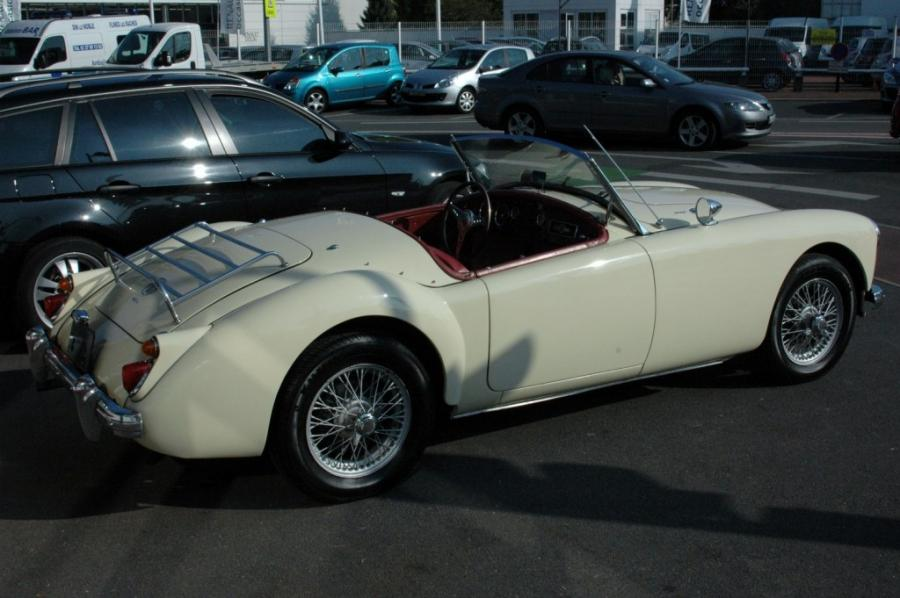 MG A 1600 MKI cabriolet 1959