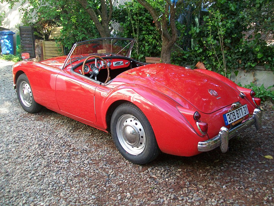 MG A 1600 MKI cabriolet 1960