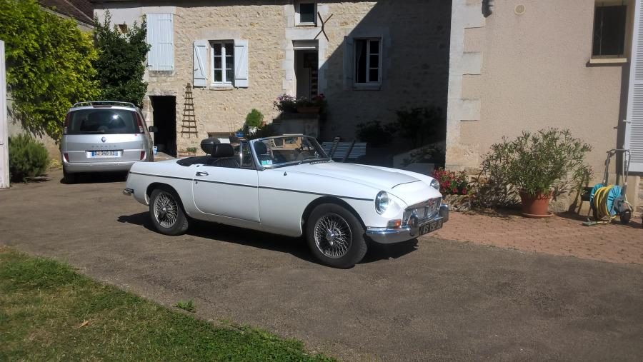 MG C 2.9 145ch cabriolet 1969