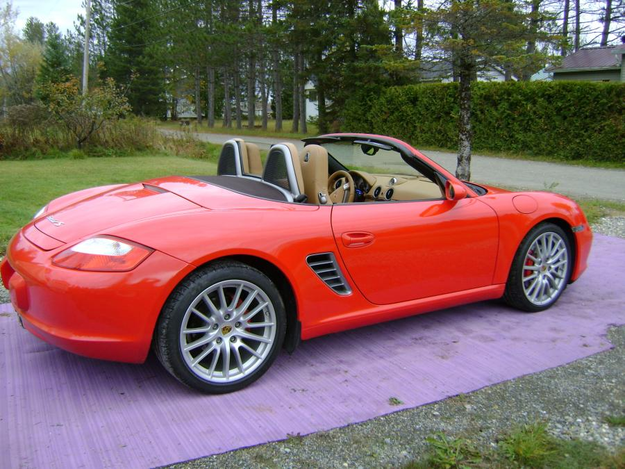 avis porsche boxster 987 s 295ch cabriolet 2007 par. Black Bedroom Furniture Sets. Home Design Ideas