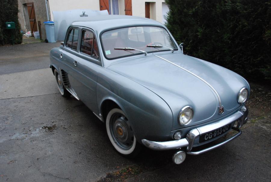 Avis RENAULT DAUPHINE 1090 berline 1958 par Marbotin55