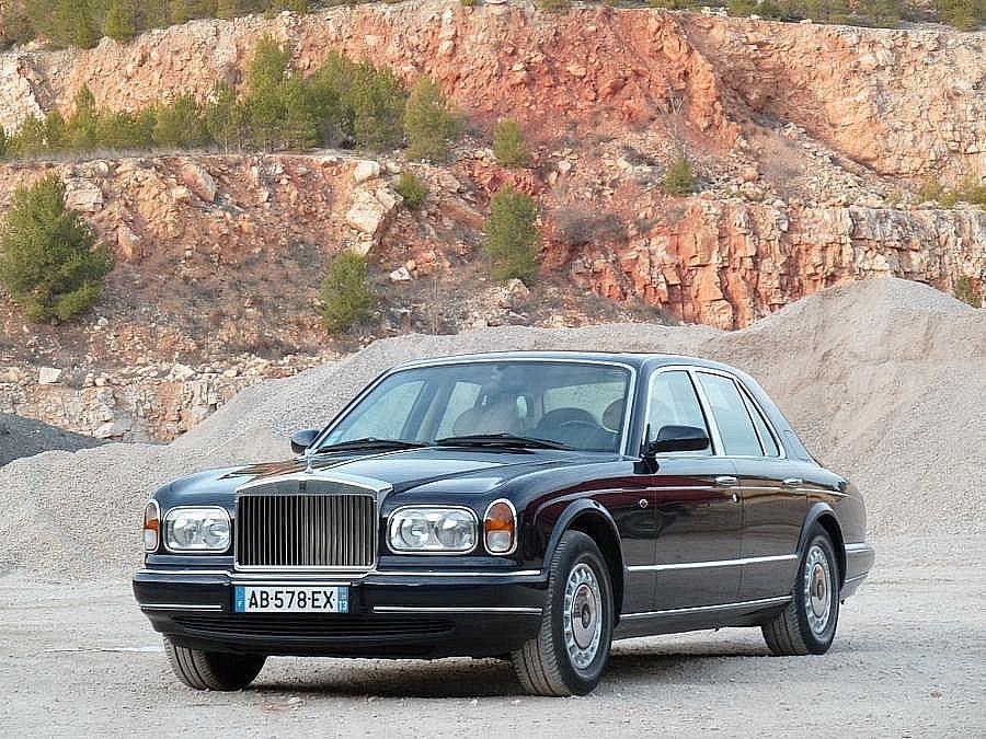 Avis ROLLS-ROYCE SILVER SERAPH V12 berline 1999 par P. Dumas