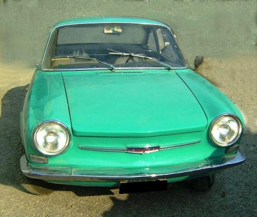 SIMCA 1000 Coupe Bertone coupé 1965
