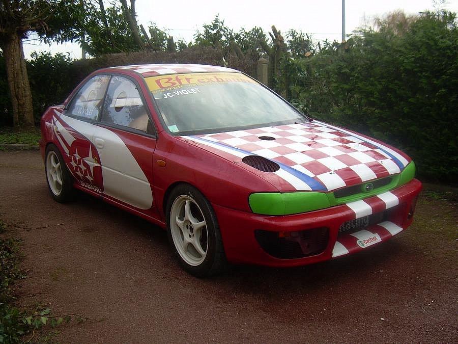 Avis SUBARU IMPREZA 2.0 GT Turbo compétition 1998 par jiceve