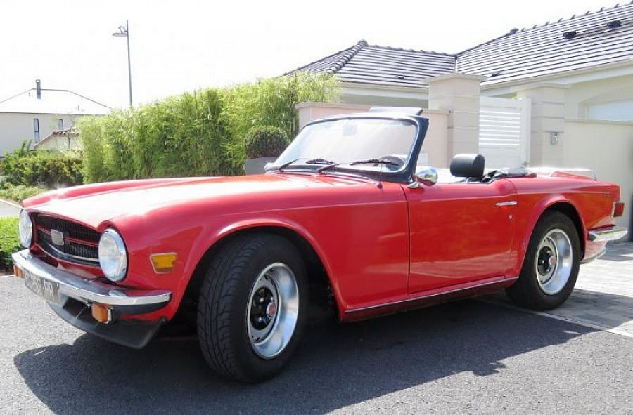 avis triumph tr6 pi 124ch cabriolet 1975 par decouversalis motorlegend. Black Bedroom Furniture Sets. Home Design Ideas