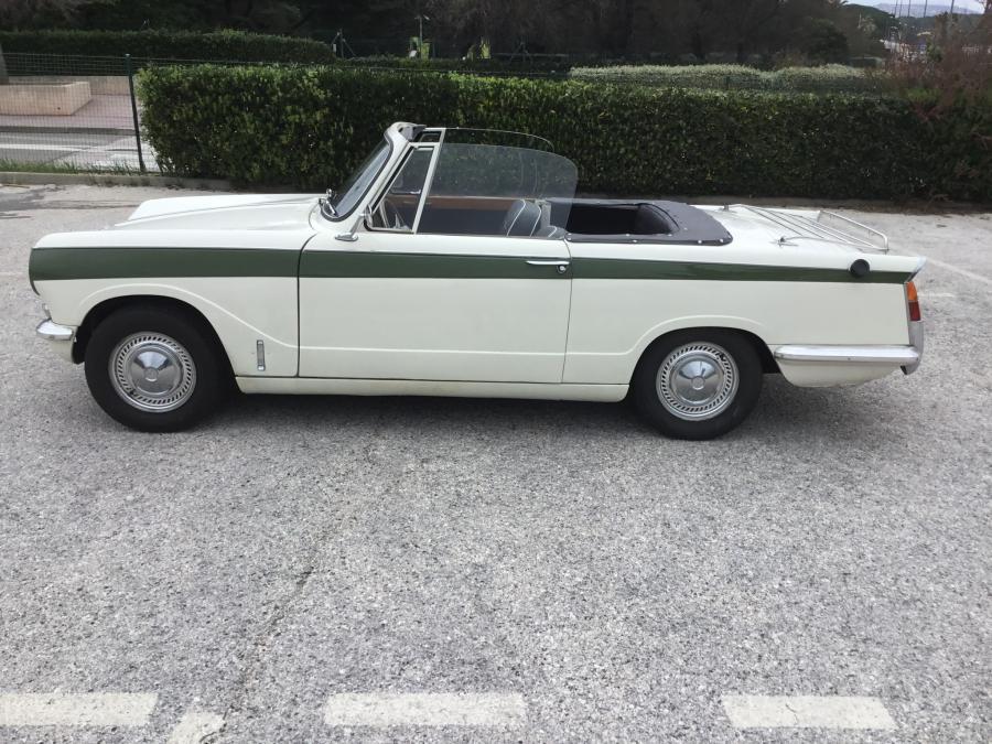 Avis TRIUMPH VITESSE 6 cabriolet 1965 par Mico