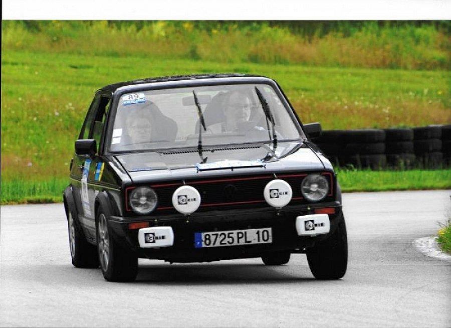 Avis VOLKSWAGEN GOLF I GTI 1600 compétition 1980 par brunet10