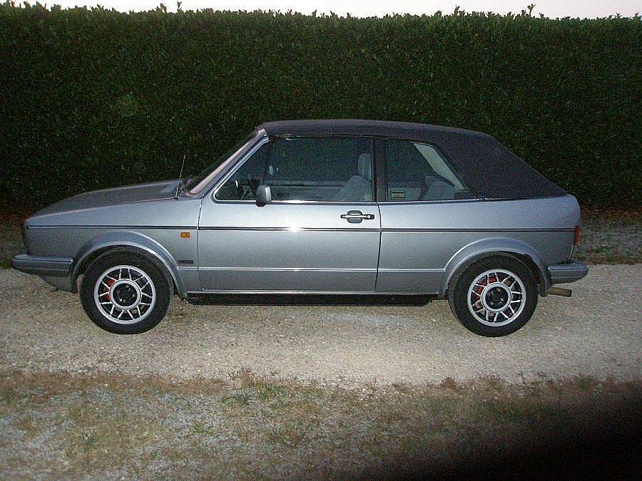 Avis VOLKSWAGEN GOLF I cabriolet 1987 par luckyboy