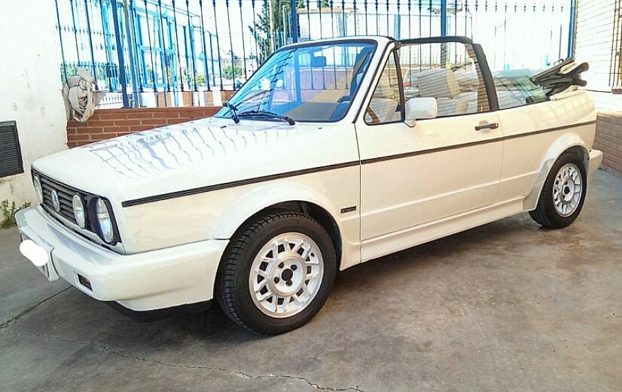 Avis VOLKSWAGEN GOLF II GTI cabriolet 1988 par javibuell