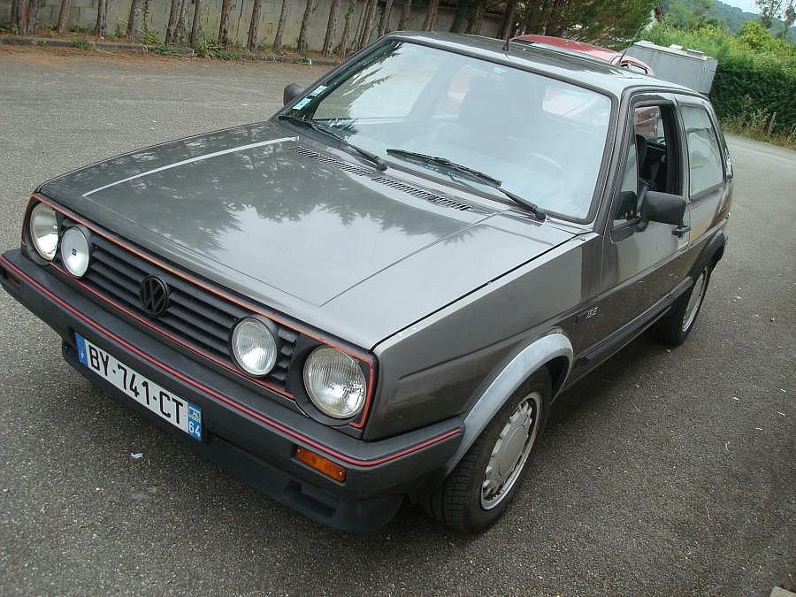 Avis VOLKSWAGEN GOLF II GTI 16V coupé 1986 par darty64