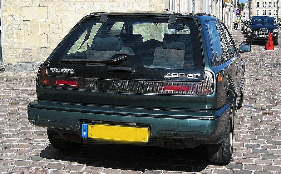Avis VOLVO 480 2.0 GT coupé 1995 par superfangio