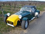 CATERHAM SUPER SEVEN 1700 Supersprint cabriolet 1988