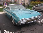 FORD USA THUNDERBIRD III Bullet Birds 6.4L V8 (390ci) coupé 1961