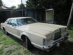 LINCOLN CONTINENTAL Mark V berline 1979