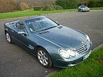 MERCEDES CLASSE SL R230 500 (Serie 1) cabriolet 2001