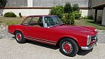 MERCEDES CLASSE SL W113 Pagode 280 SL cabriolet 1969
